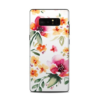Samsung Galaxy Note 8 Skin - Fresh Flowers