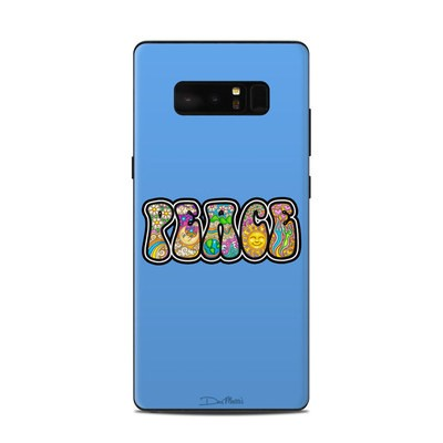 Samsung Galaxy Note 8 Skin - Peace Text