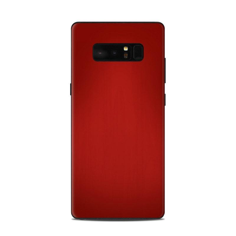 online retailer ee89d 71f0f Samsung Galaxy Note 8 Skin - Red Burst by DecalGirl Collective