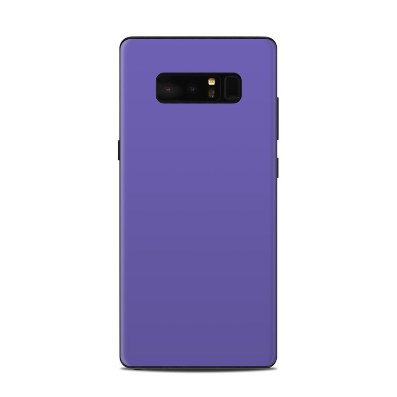 premium selection d4da6 05db7 Samsung Galaxy Note 8 Skin - Solid State Purple