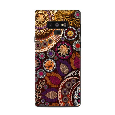 Samsung Galaxy Note 9 Skin - Autumn Mehndi