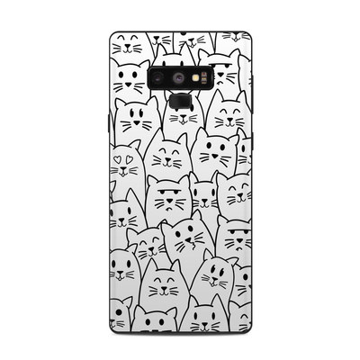 Samsung Galaxy Note 9 Skin - Moody Cats