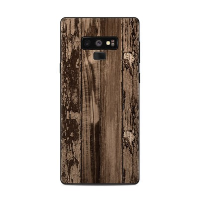 Samsung Galaxy Note 9 Skin - Weathered Wood