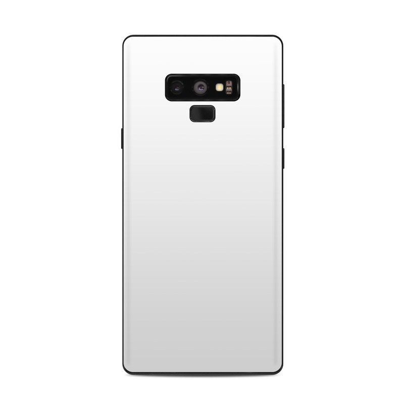 Samsung Galaxy Note 9 Skin - Solid State White by Solid ...