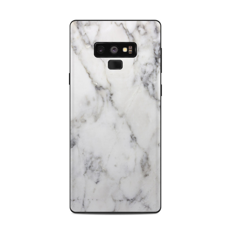 low priced 43676 24a80 Samsung Galaxy Note 9 Skin - White Marble