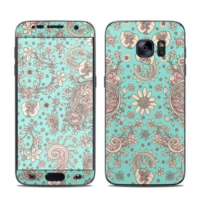 Samsung Galaxy S7 Skin - Birds Of A Flower