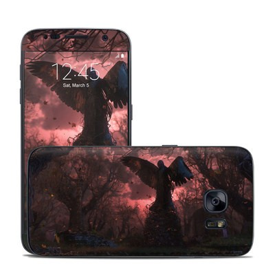 Samsung Galaxy S7 Skin - Black Angel
