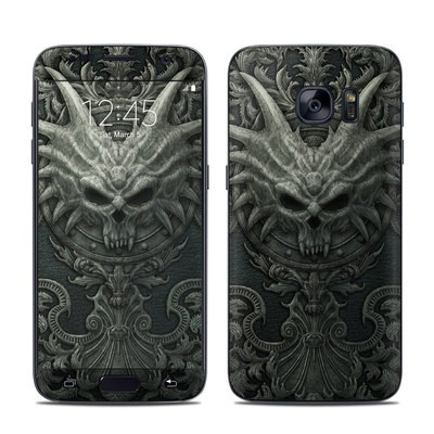 Samsung Galaxy S7 Skin - Black Book