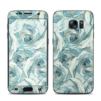 Samsung Galaxy S7 Skin - Bloom Beautiful Rose