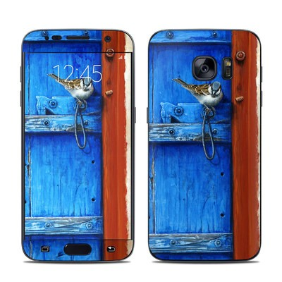 Samsung Galaxy S7 Skin - Blue Door