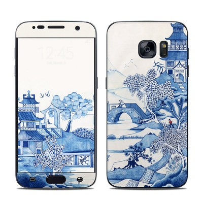 Samsung Galaxy S7 Skin - Blue Willow
