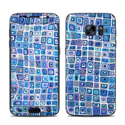 Samsung Galaxy S7 Skin - Blue Monday