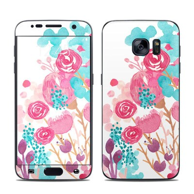 Samsung Galaxy S7 Skin - Blush Blossoms