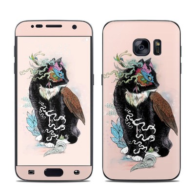 Samsung Galaxy S7 Skin - Black Magic