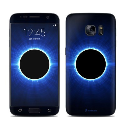 Samsung Galaxy S7 Skin - Blue Star Eclipse