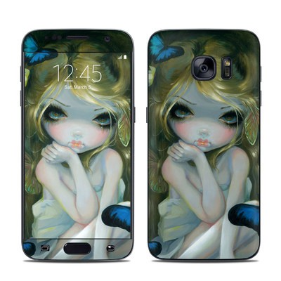 Samsung Galaxy S7 Skin - Butterfly Lily
