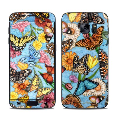 Samsung Galaxy S7 Skin - Butterfly Land
