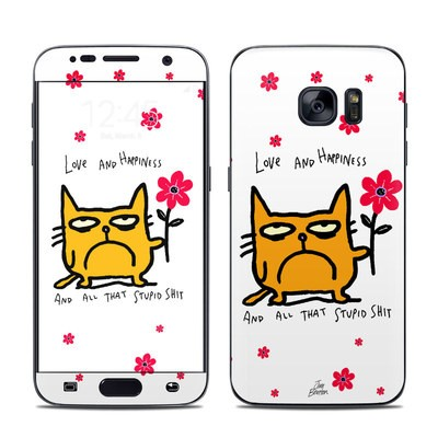Samsung Galaxy S7 Skin - Catwad Happy