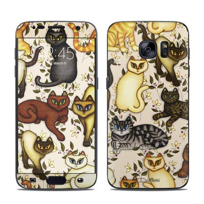 Samsung Galaxy S7 Skin - Cats