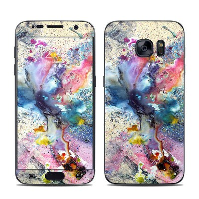 Samsung Galaxy S7 Skin - Cosmic Flower