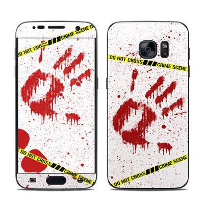 Samsung Galaxy S7 Skin - Crime Scene Revisited