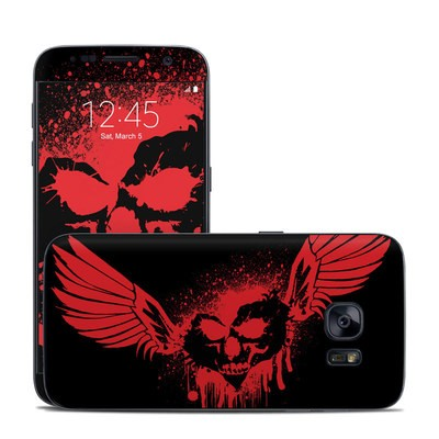Samsung Galaxy S7 Skin - Dark Heart Stains