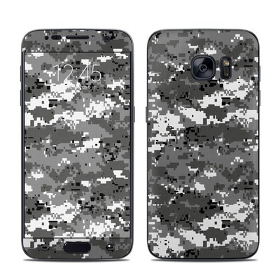 Samsung Galaxy S7 Skin - Digital Urban Camo