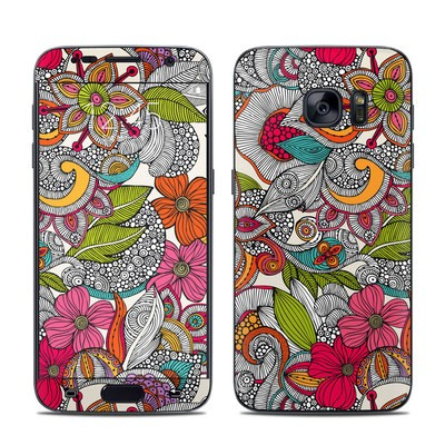 Samsung Galaxy S7 Skin - Doodles Color