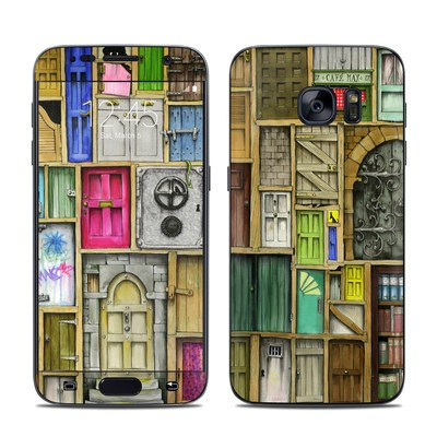 Samsung Galaxy S7 Skin - Doors Closed