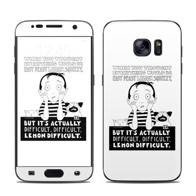Samsung Galaxy S7 Skin - Easy Peasy