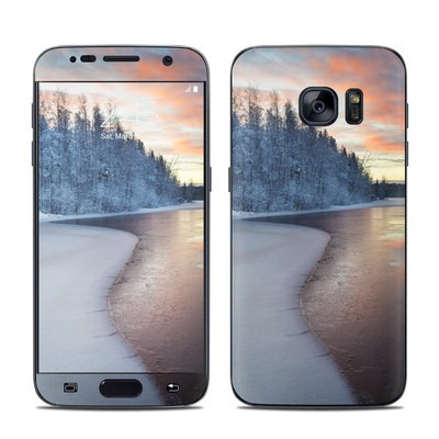 Samsung Galaxy S7 Skin - Evening Snow