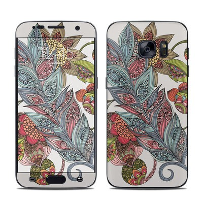 Samsung Galaxy S7 Skin - Feather Flower