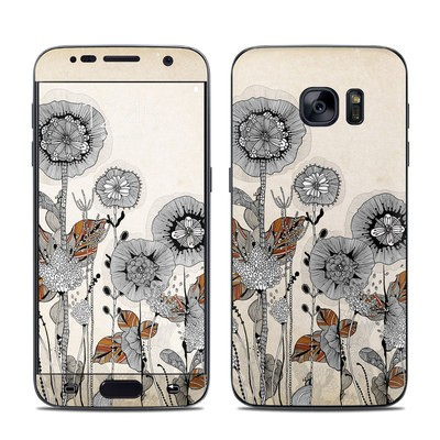 Samsung Galaxy S7 Skin - Four Flowers