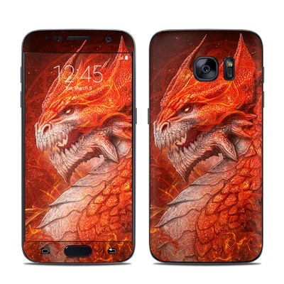 Samsung Galaxy S7 Skin - Flame Dragon