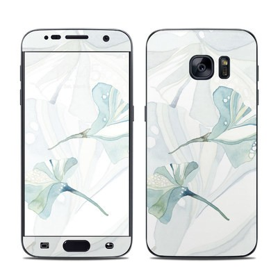 Samsung Galaxy S7 Skin - Floating Gingko