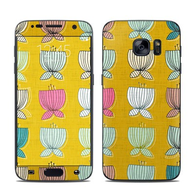 Samsung Galaxy S7 Skin - Flower Cups
