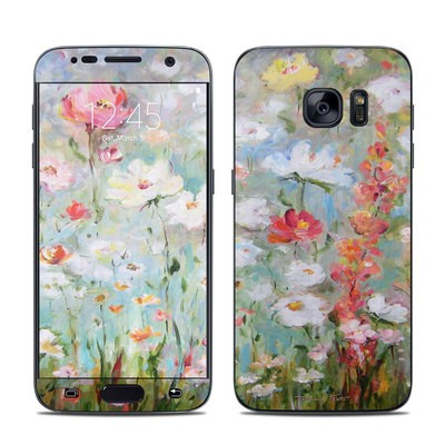 Samsung Galaxy S7 Skin - Flower Blooms