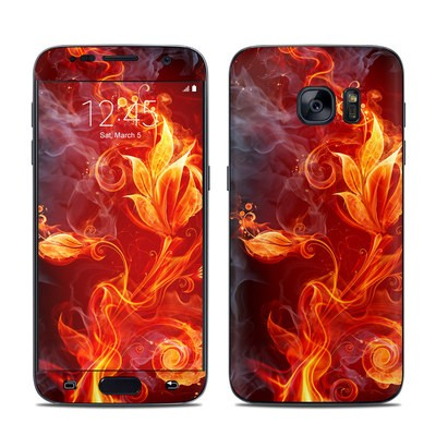 Samsung Galaxy S7 Skin - Flower Of Fire