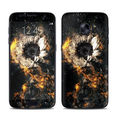 Samsung Galaxy S7 Skin - Flower Fury