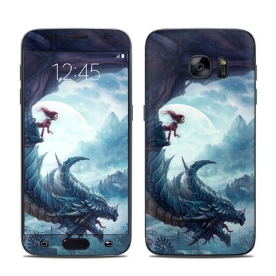 Samsung Galaxy S7 Skin - Flying Dragon