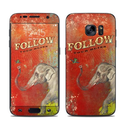 Samsung Galaxy S7 Skin - Follow Your Bliss