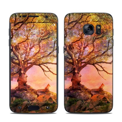 Samsung Galaxy S7 Skin - Fox Sunset