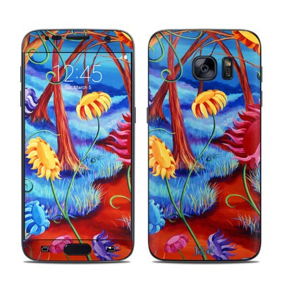 Samsung Galaxy S7 Skin - Forest Whispers