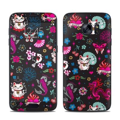 Samsung Galaxy S7 Skin - Geisha Kitty