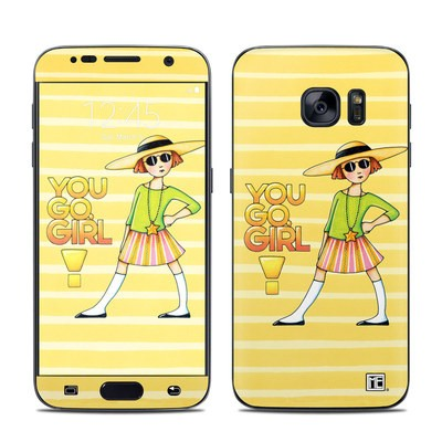 Samsung Galaxy S7 Skin - You Go Girl