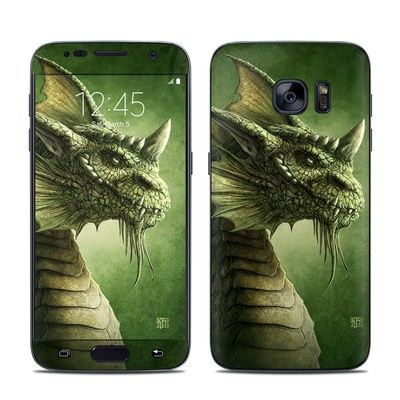 Samsung Galaxy S7 Skin - Green Dragon