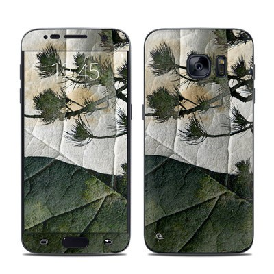 Samsung Galaxy S7 Skin - Green View