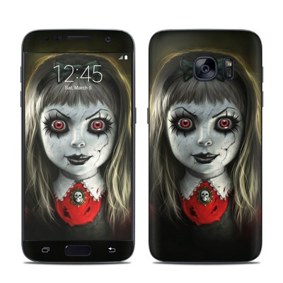 Samsung Galaxy S7 Skin - Haunted Doll