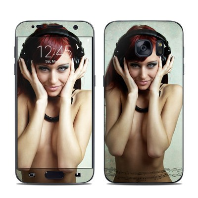 Samsung Galaxy S7 Skin - Headphones