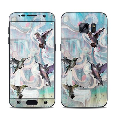 Samsung Galaxy S7 Skin - Hummingbirds